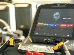 Cardio TV's with IPOD and Nike+
